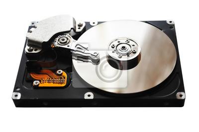 počítačový pevný disk