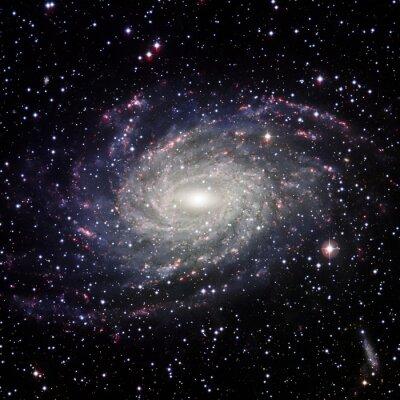Obraz Pohled Galaxy systém izolován prvky tohoto obrázku zařízený NASA