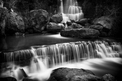 Obraz Pohled na Fervenca vodopádu poblíž Sintra, Portugalsko