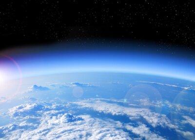 Obraz Pohled na Zemi z vesmíru