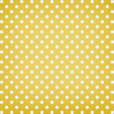 Obraz Polka dot background