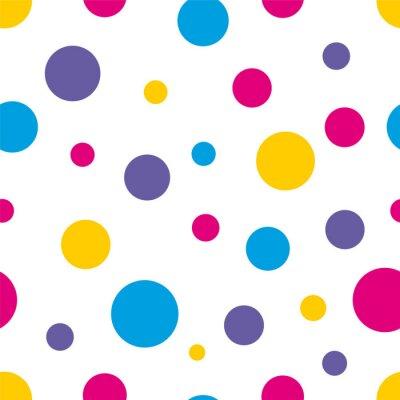 Obraz Polka Dot Bezešvé barevné pozadí