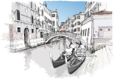 Ponte del Mondo Novo. Benátky, Itálie