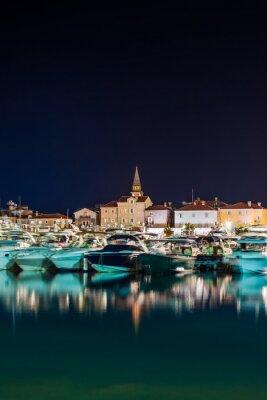 Port in Budva Montenegro