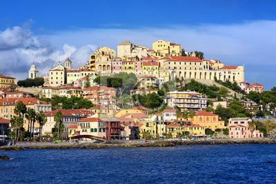 Porto Maurizio, staré město Imperia, Itálie