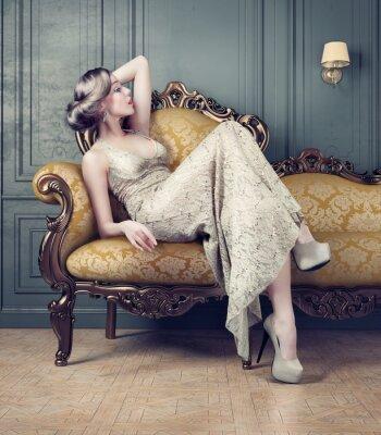 Obraz Portrét krásné ženy