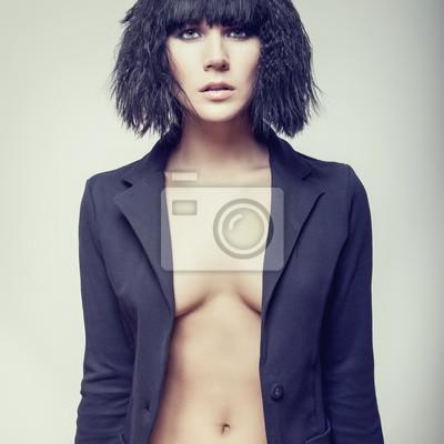 Portrét módní žena modelu