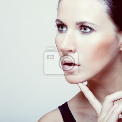 Portrét smyslné ženy