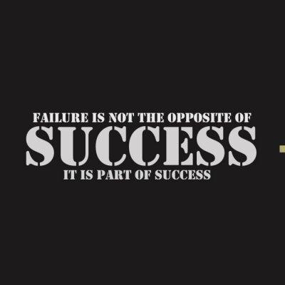 Obraz Porucha není opakem úspěchu. Je součástí úspěchu.