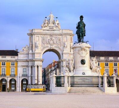 Praça do Comércio náměstí, Lisabon, Portugalsko