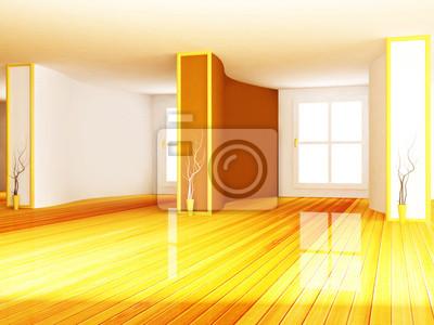 prázdné interiér