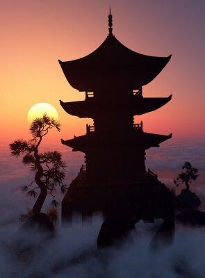 Obraz Při západu slunce.