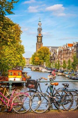Obraz Prinsengracht kanál v Amsterdamu