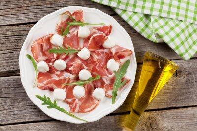 Obraz Prosciutto a mozzarella
