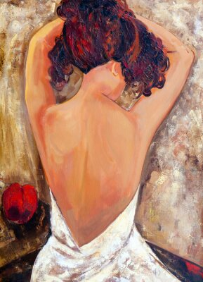 Obraz Protější strana Krása (olejomalba)