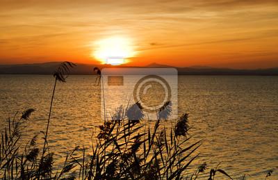 Obraz Puesta de sol en el Oceano