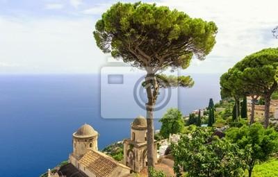 Ravello na pobřeží Amalfi