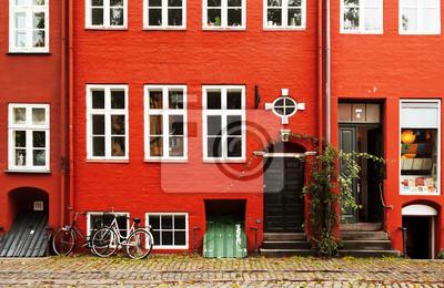 Red Building a jízdních kol v Kodani.