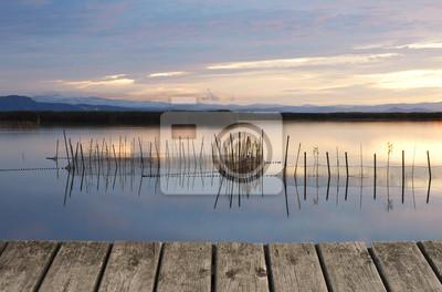 Obraz reflejos en el Lago