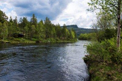 Obraz Řeka v Norsku