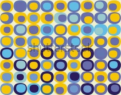 Obraz Retro bezešvé čtvercový vzor