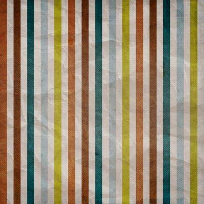 Obraz Retro proužek vzorek - pozadí s barevný hnědá, modrá, šedá