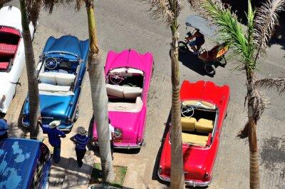 Obraz Retro vozy v Havaně.