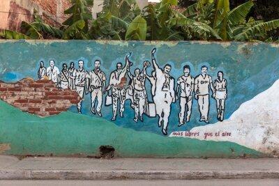 Obraz Revolution, Kuba