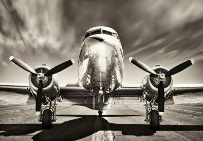 Obraz ročník letadlo