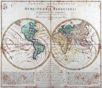 Obraz ročník mapa