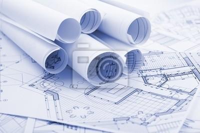 role architektonických plánů - náčrty