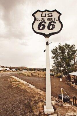 Obraz Route 66 znamení