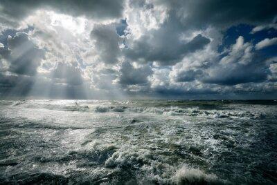Obraz Rozbouřeném moři