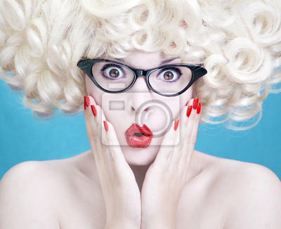Obraz Roztomilá blondýnka