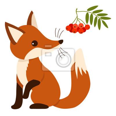 liška kreslená