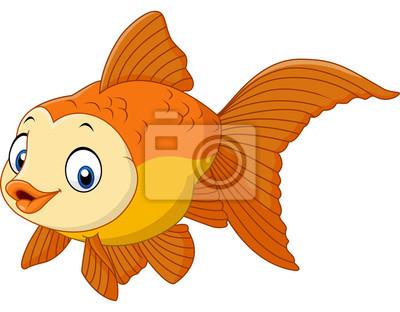 Roztomily Kresleny Zlata Ryba Obrazy Na Stenu Obrazy Krasna Kapr
