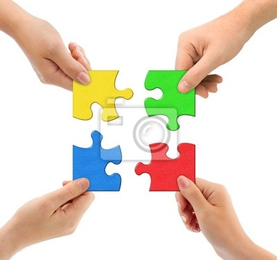 Ruce a puzzle