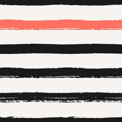 Obraz Ručně malovaná Stripes bezešvé vzor