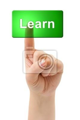 Ruční a tlačítko Learn