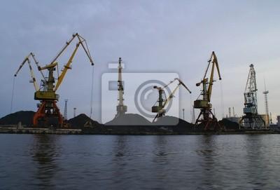 Ruský přístav v Baltském moři.