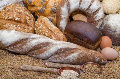 Obraz Různé pekařských výrobků