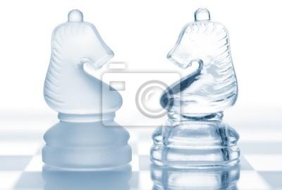 Šachy rytíři. Pojetí konfrontace