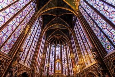 Obraz Sainte Chapelle v Paříži