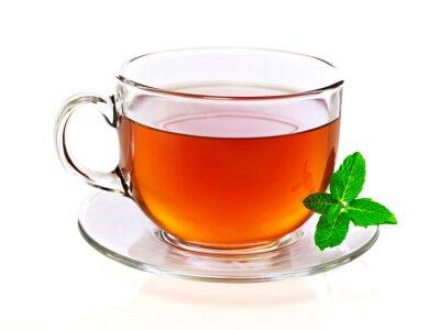 Obraz Šálek čaje s mátou