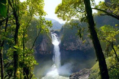 Obraz San Rafael Falls. Největší Vodopád v Ekvádoru
