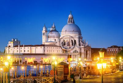 Santa Maria della Salute, Benátky, Itálie