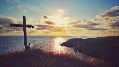Obraz Scénické východ slunce nad pobřeží, Bulharsko