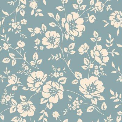 Obraz Seamless květinovým vzorem