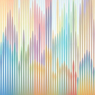 Obraz sfondo strisce colorate