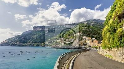 Silnice na pobřeží Amalfi